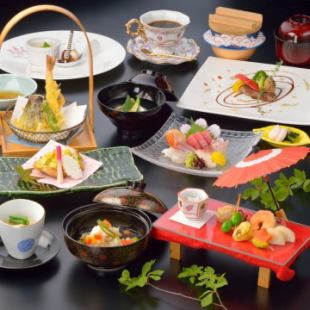 "【Lunar New Year's party】 ""Komari"" Kaiseki Course 9 items 4100 yen ~ January gift writing ~"