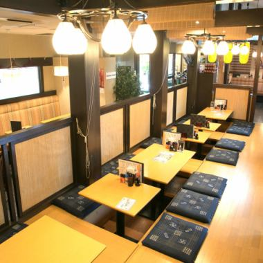 【Kashira Banquet for 40 people】 Seats in a seat recommended for large banquets.A great banquet plan is available from 3000 yen.Because it is a digging formula, you can relax slowly with your legs extended, so it is perfect for 2 people up to 40 people sitting on a banquet.Please use it for various scenes such as launch from a private party party, company banquet, legal affairs, alumni association.