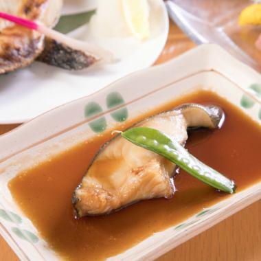 和食の定番!脂がのったとろける「ぎんだらの煮付け」