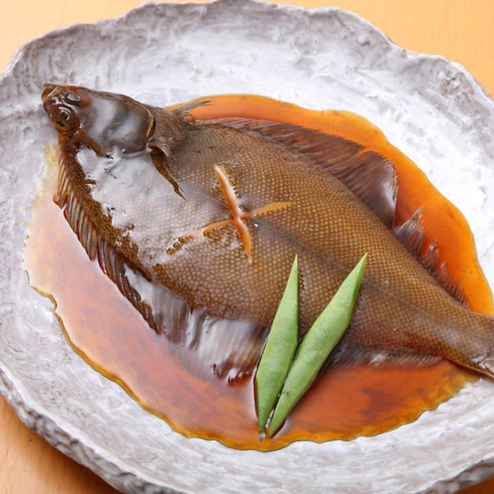 Braised with fish