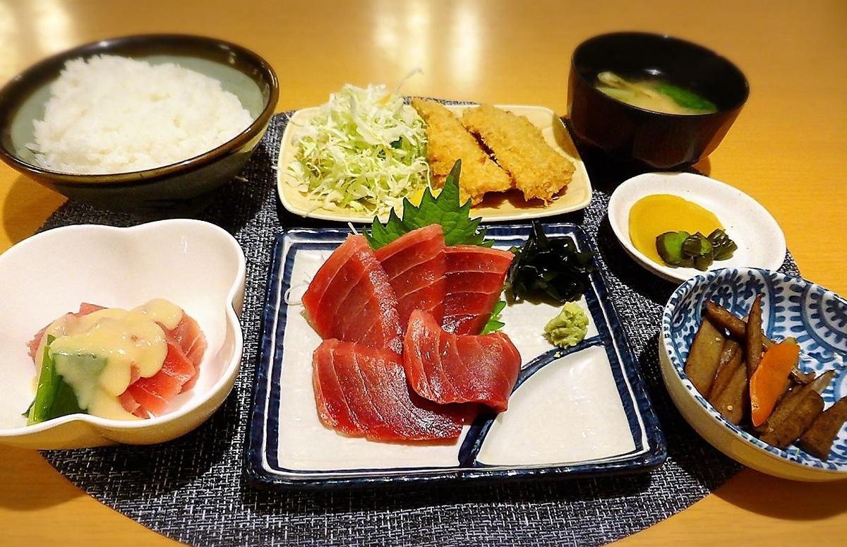 Tuna Sushi set menu