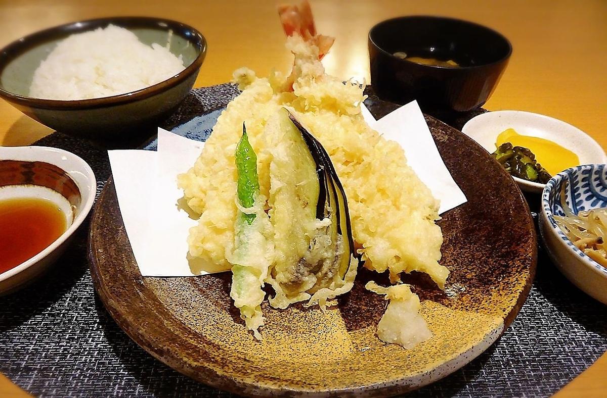 天ぷら盛合せ御膳