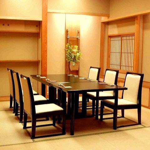 【Complete private room with a seat, table etc】 We also correspond to small groups of banquets in private rooms.For important hospitality, the store manager himself will pre-negotiate.