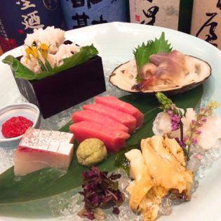 什錦生魚片(1份)