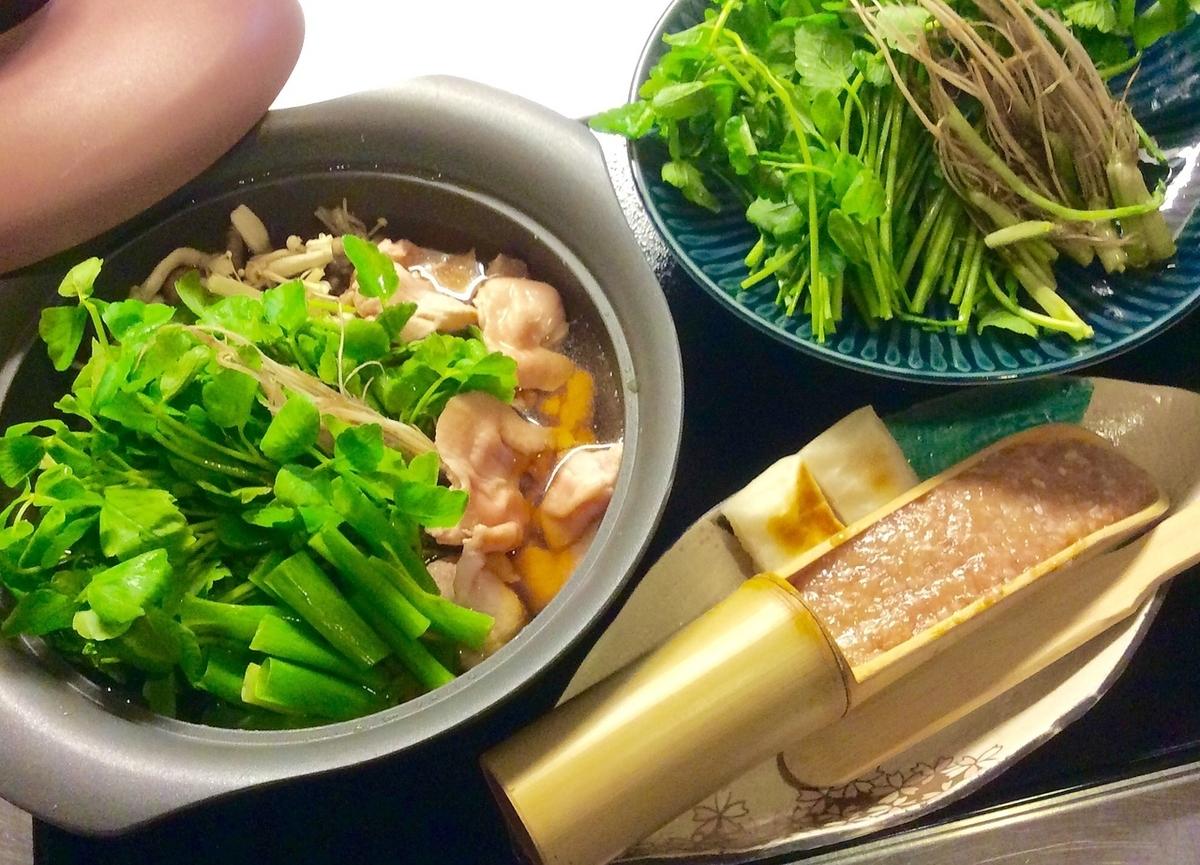 鳳山特製 仙台せり鍋