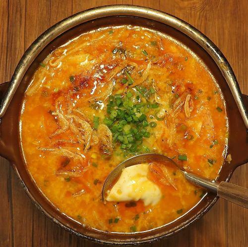 濃厚海老出汁スープの炊き餃子(五ヶ)