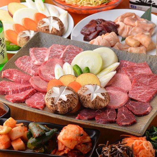 宴會人氣NO1![將軍當然]所有17菜餚120分鐘你可以5000日元喝