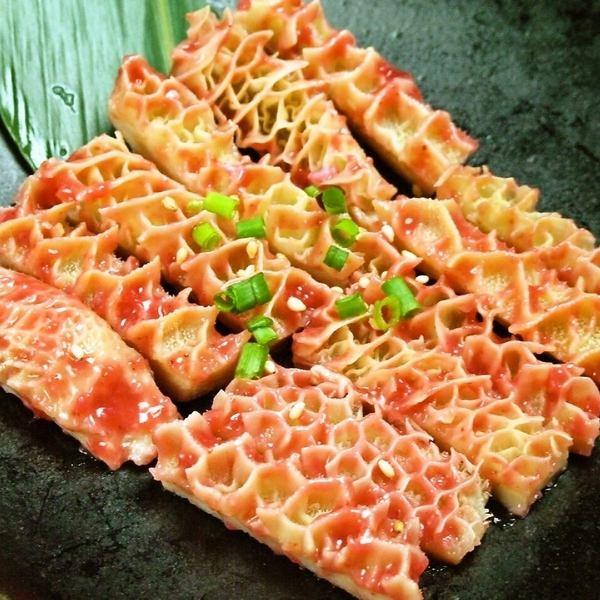 Plum meat honeycomb tripe