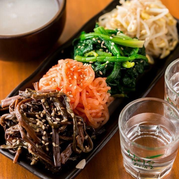 Namul prime ◇ to accompany sake! ~ Grilled meat Gen. Ueno shop ~