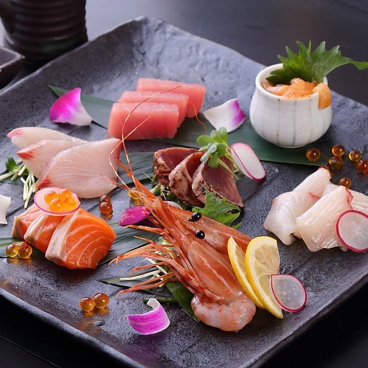 七種鮮魚拼盤