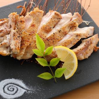 若鶏の岩塩焼き