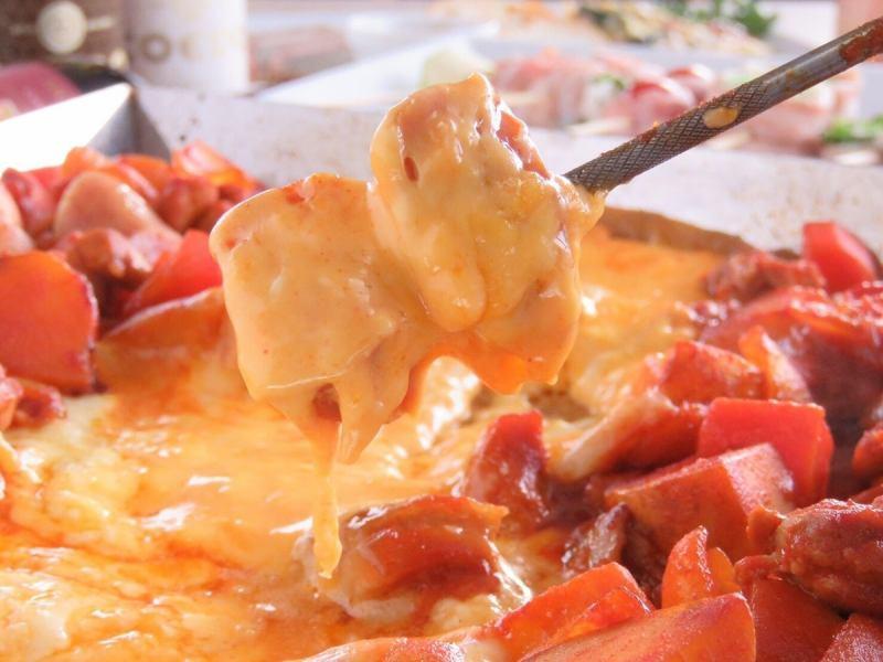 现在关注的菜单!也可以吃奶酪dacalcabi的过程!
