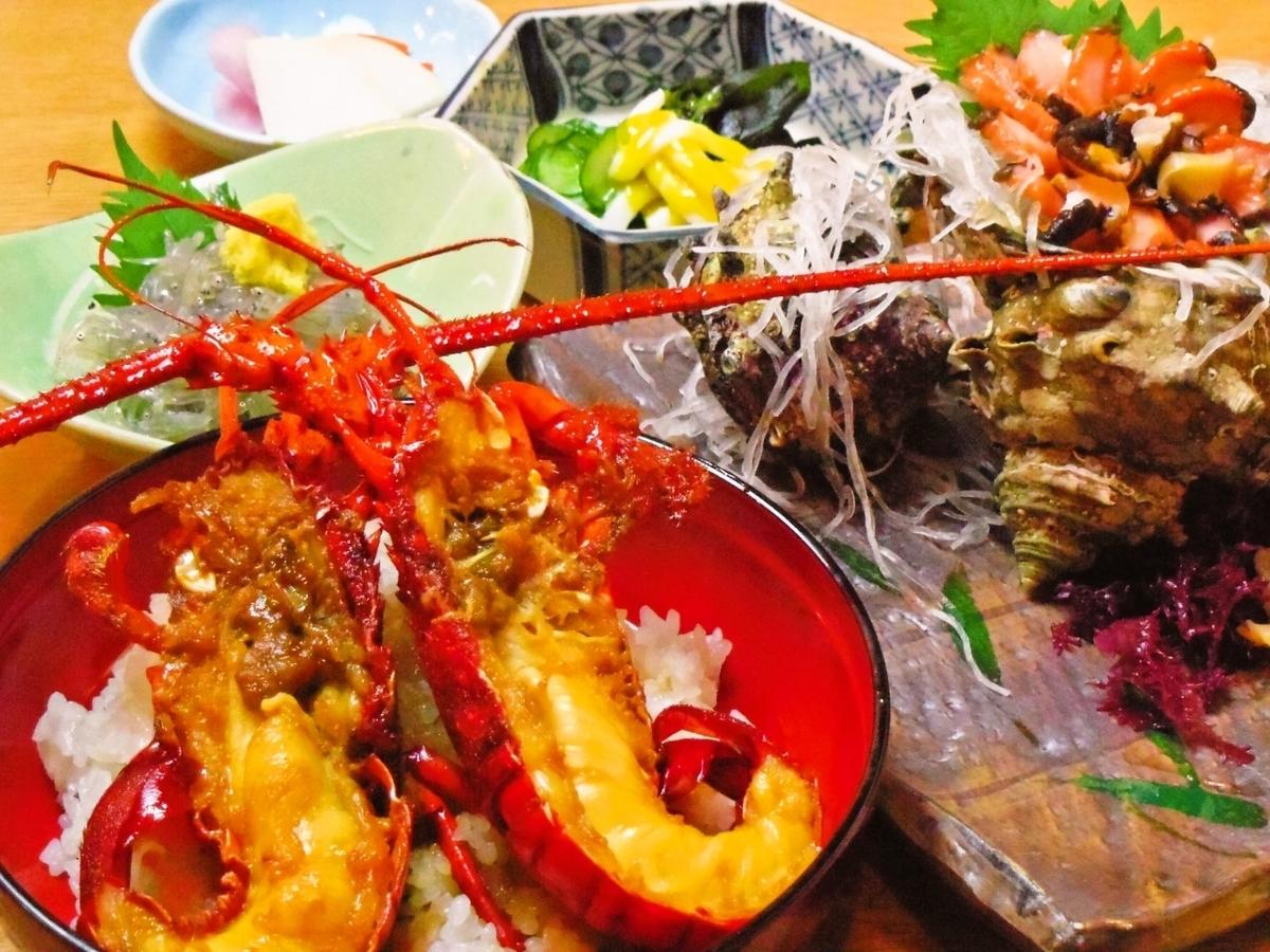 江ノ島名物 新鮮な海鮮
