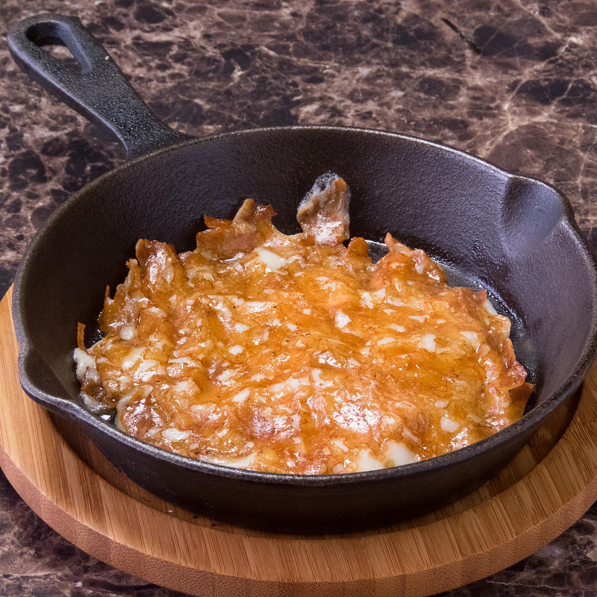 カチョカバロ鉄板焼き