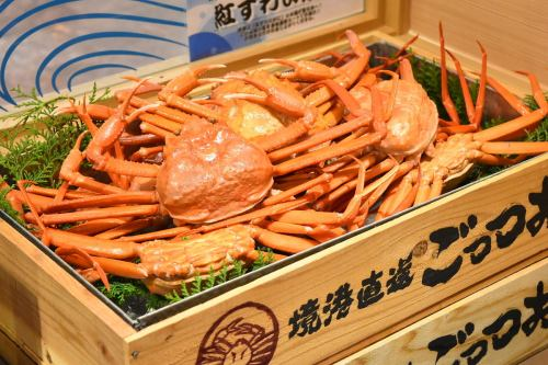 All-you-can-eat red crab!