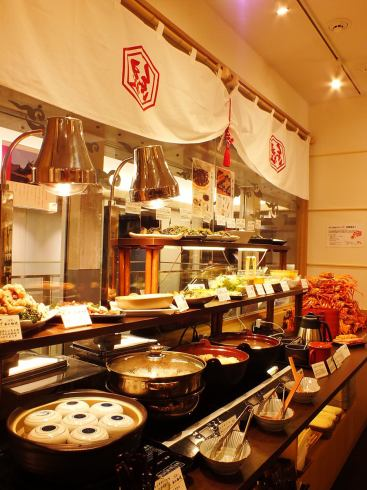 Including the crab dishes, all-you-can-eat all be a variety of dishes ♪