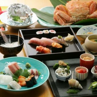 «General Advantage!» Use plenty of fresh seafood! 10 Hyakumaishi course / 10000 yen