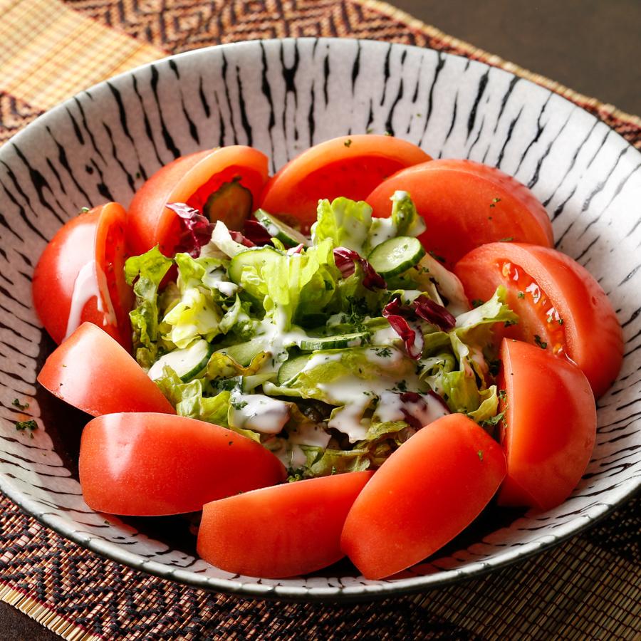 冷しゃぶサラダ/トマトサラダ