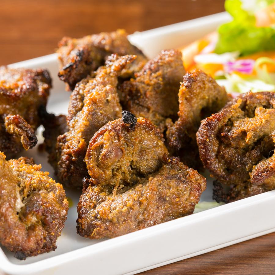 양고기 양념 볶음 / 닭 꼬치 구이
