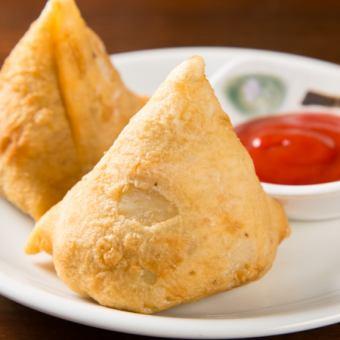 印度炸丸子食品