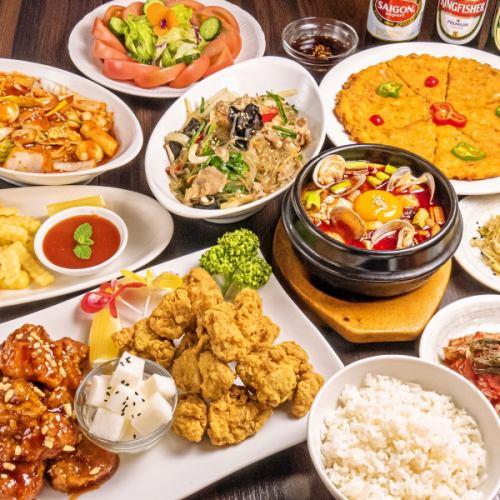 아시아 8 개국의 레스토랑
