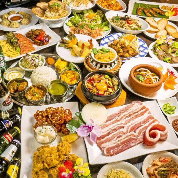 当地厨师运用他们的技能制作的许多正宗菜肴★