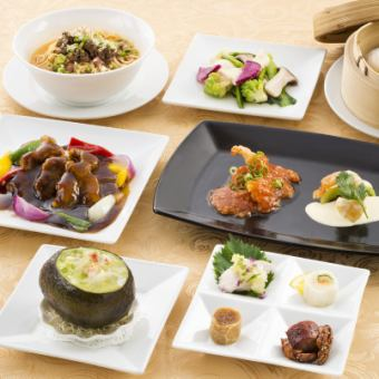 Hong Kong ceremonial Hong Kong cuisine course 【All 7 items 4320 yen with dessert】