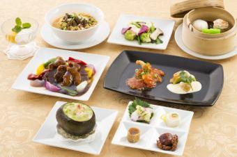 Hong Kong ceremonial Hong Kong cuisine course 【All 7 items 4320 yen with dessert】