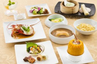 Shirogane vegetable premium course 【All 8 items 6480 yen with dessert】