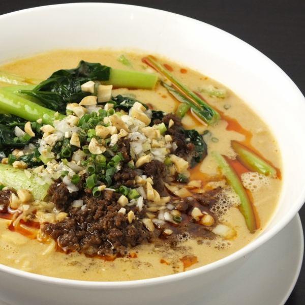 白金亭特製タンタン麺