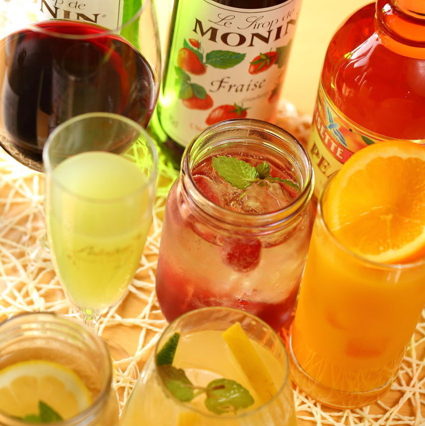 120 minutes draft beer included All you can drink 1500 → 1280 yen ♪