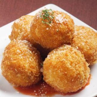 Supri (Italian rice croquette)