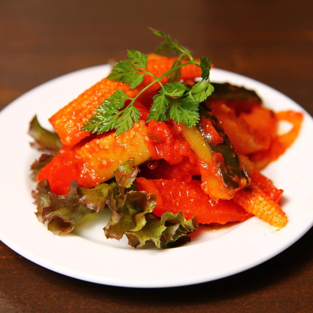 야채 토마토 조림