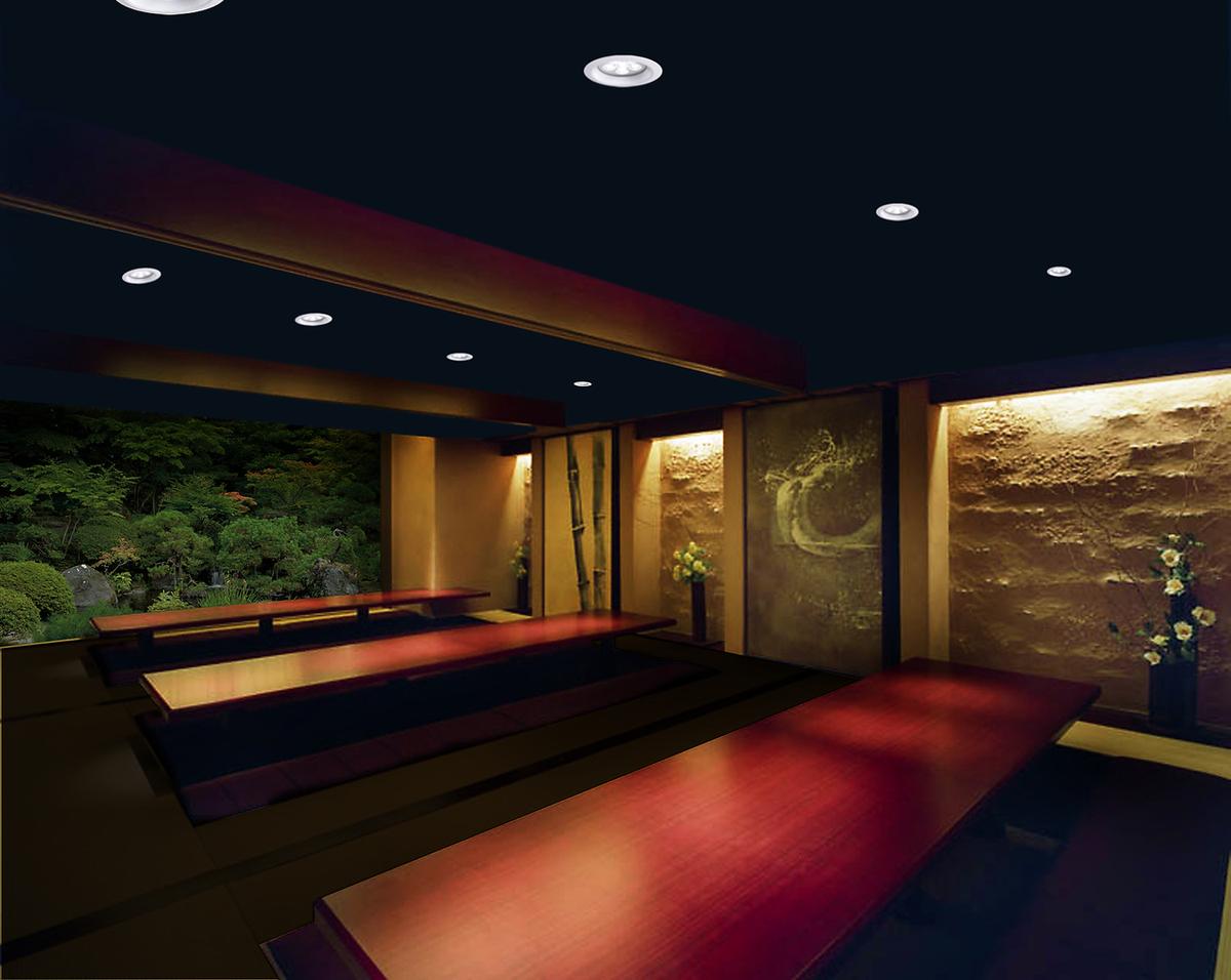 豪华空间〜完全独立的房间可容纳60人