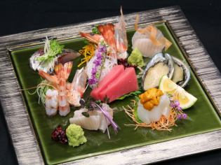 Fabulous serving of specialty sashimi