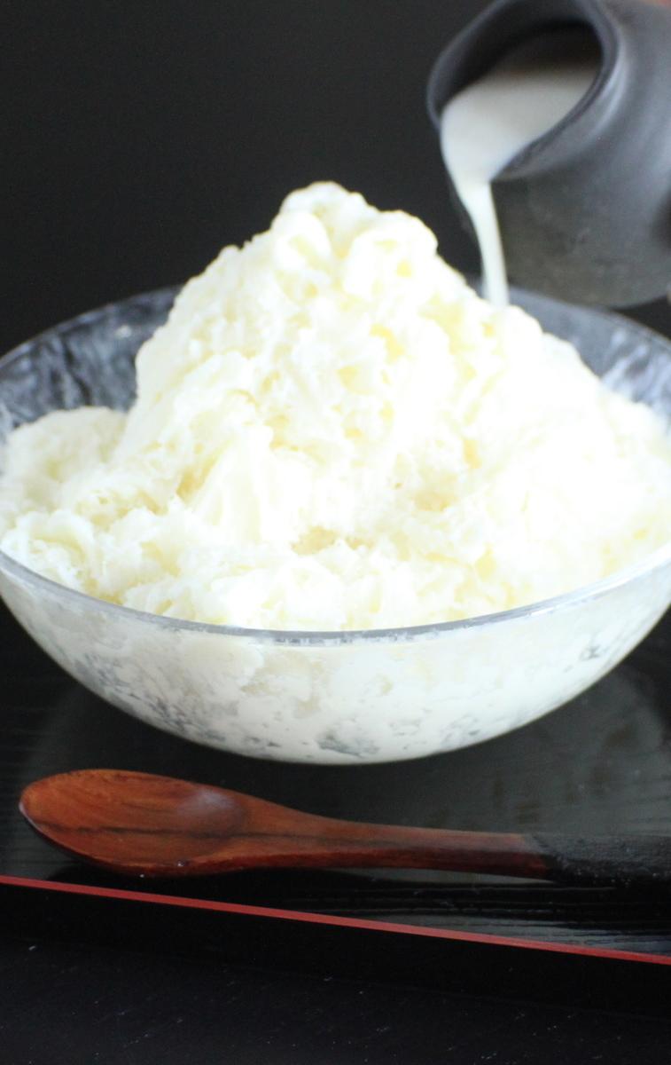 糀かき氷(プレーン)