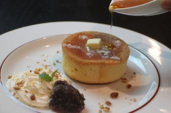 Eternal Pancake with salt and butter