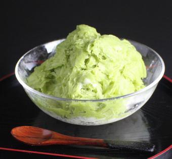 巧兒刨冰(綠茶)