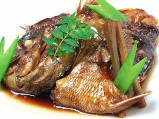 鯛魚水煮粗糙