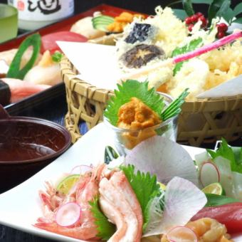 [Classic banquet] luxury platter such as fresh fish in the day 3500 yen