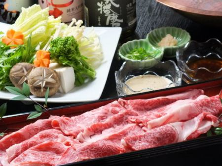 课程采用长期建立在日本!日本牛肉的季节,有会席♪