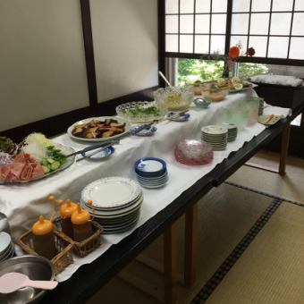 Let's enclose delicious dishes of Totsuya everyone ♪ Spring Viking course