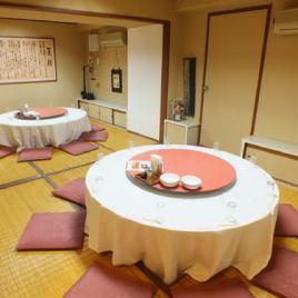 中華料理といえばやっぱり円卓♪みんなでテーブルを囲んで会話を楽しみながら絶品中華をご堪能いただけます!