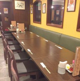 各種ご宴会・ランチ・ママ会・ご家族でのお食事会など様々なシーンに人気です!人数規模に合わせて様々なお席をご用意致します。まずはご相談下さい♪