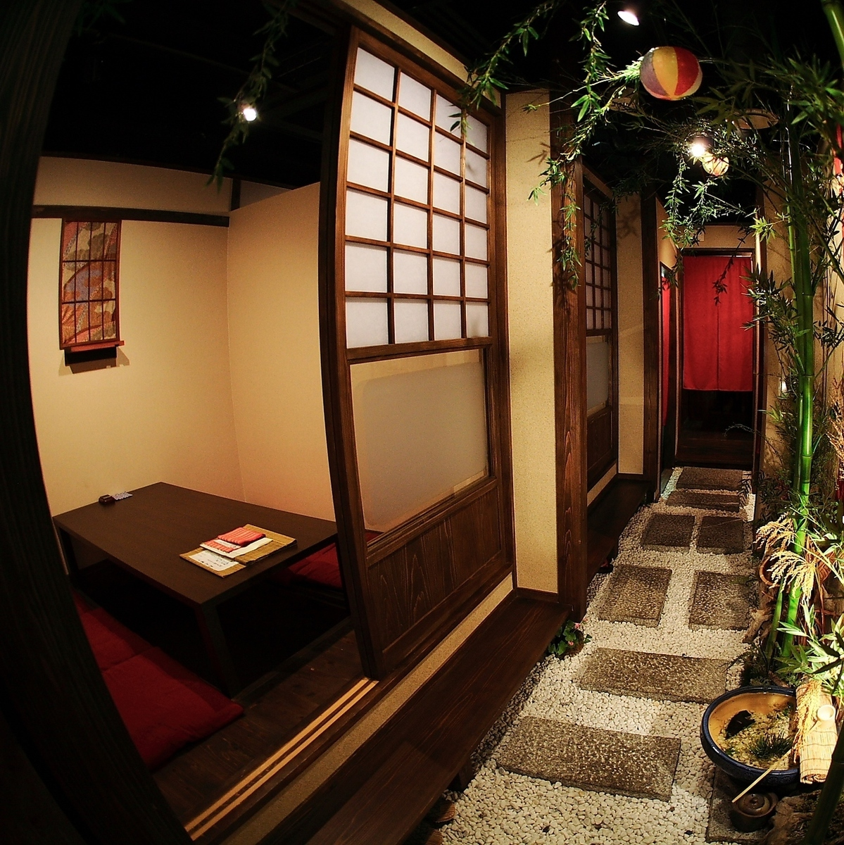 Our shop 2F is full seats Hori Kotatsu private room