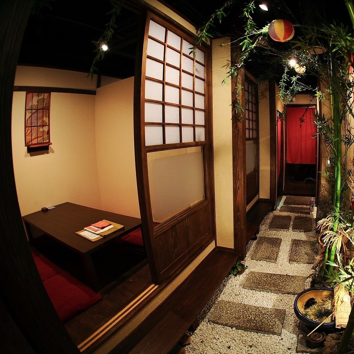 我們的商店2F是全套Hori Kotatsu私人房間