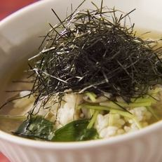 美味的湯茶泡飯