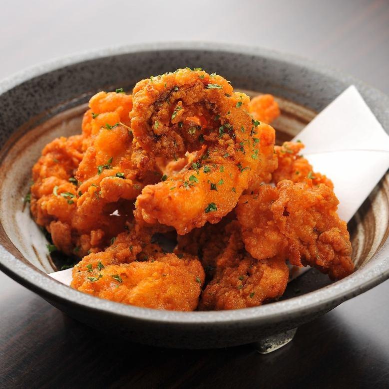 Deep-fried octopus