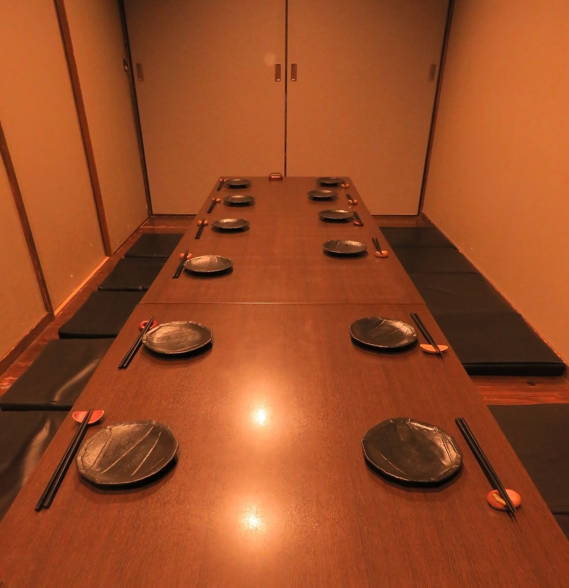 10 people for a maximum of 14 guests digging kotatsu private room