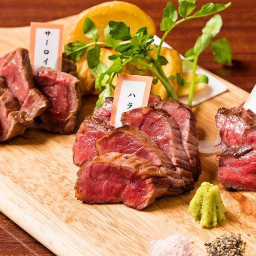 ヘルシーな馬肉料理の数々
